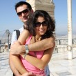 Couple do sightseeing in Athens — Stock Photo #17163787