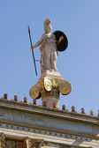 Athena Pallas statue in Greece — Stock Photo