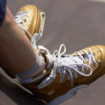 ������, ������: Skater in aggressive in line rollerblades