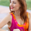 Sexy young red haired lady — Stock Photo #29847285