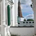 Veranda in old Russian monastery — Stock Photo #1163115