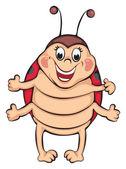 Ladybug — Stock Vector