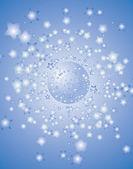 Star background — Stock Vector