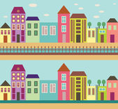 City street — Stock Vector