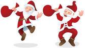 Happy Santa Claus — Stockvektor