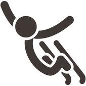 Freestyle icon — Stock Vector
