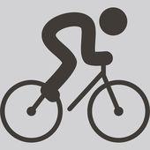 Cycling icon — Vector de stock