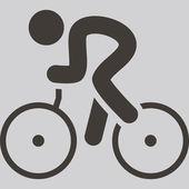 Cycling icon — Wektor stockowy