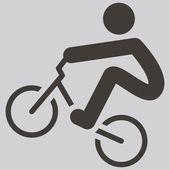 Jazda na rowerze bmx ikona — Wektor stockowy