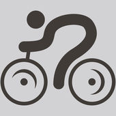 Cycling icon — Stock Vector