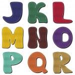 parte de alfabeto Scrapbook 2 — Vector de stock