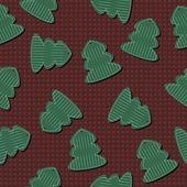 Nahtlose silvester und weihnachten wallpaper — Stockvektor