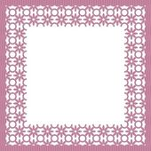 Frame with white lace — Vetorial Stock