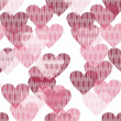 Royalty-Free Stock Vector: Background with hearts