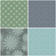 Stock vektor: Seamless flower pattern