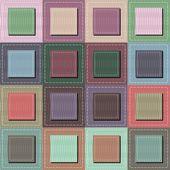 Fond de patchwork — Vecteur
