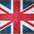 Grunge british flag — Stock Photo #18541537