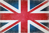Grunge british flag — Stock Photo
