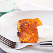 Carrot cutlets — Stock Photo