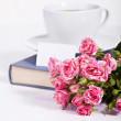 Bouquet of delicate pink roses — Stock Photo #23160480