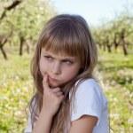 Cute sad girl — Stock Photo #24957279