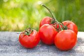 Fresh sweet tomatoes — Stock Photo