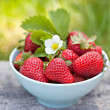 Fresh sweet strawberries — Stock Photo