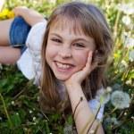girl outdoor — Stock Photo #28734083