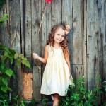 Child girl — Stock Photo #47809529