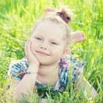 Child girl — Stock Photo #48580155
