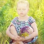 Child girl — Stock Photo #48580159