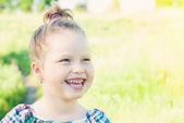 Child girl — Stock Photo