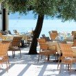 Stock Photo: Outdoor cafe in Italy