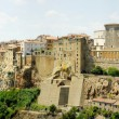 Panoramic view on a Pitigliano town — Stock Photo