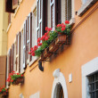 A colorful balcony in Italy — Stock Photo #13725849