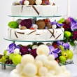 Delicious funny wedding cake — Stock Photo #13726291