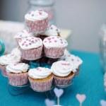 petits gâteaux de mariage — Photo