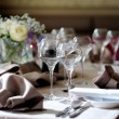 Table set for an event party — Stock Photo #13727607