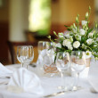 Table set for an event party or wedding — Stock Photo #13728192