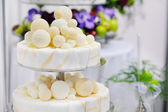 Fancy wedding cake — Photo