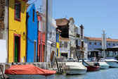 Traditional houses of Aveiro — Stock Photo