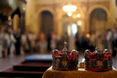 Orthodox wedding accessories — Stockfoto