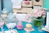 Fancy table set — Stock Photo