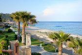 Turkish resort view — Stockfoto