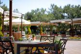 Turkiska resort view — Stockfoto
