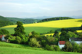 Polish countryside landscape — Stock Photo
