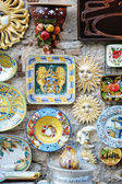 Traditional Italian ceramics — Stock Photo