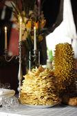 貸リトアニアのウエディング ケーキ — ストック写真