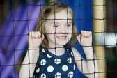 Dziewczynka zabawy — Zdjęcie stockowe
