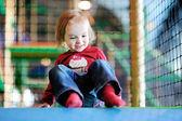 Little girl having fun — Stock Photo